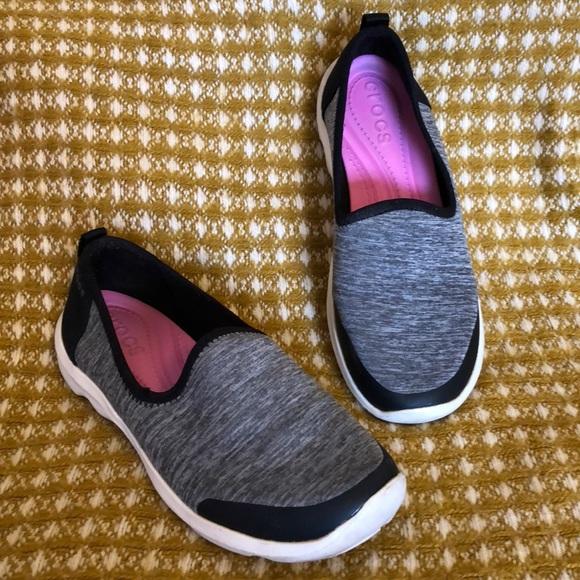533ff416d CROCS Shoes - Crocs Women s Busy Day Heather Skimmer Flat